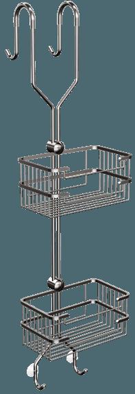 1035-20 Kosz prysznicowy podwójny
