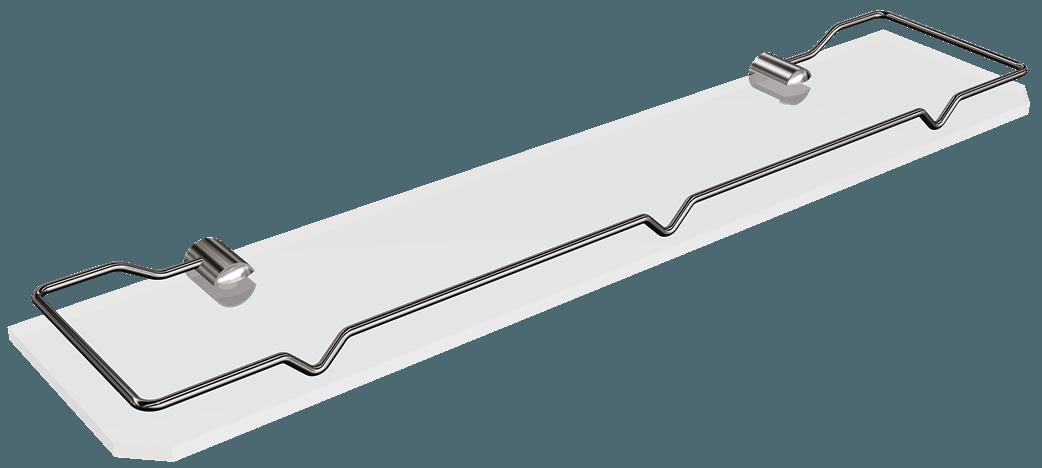1061-20 Półka szklana zramką 50cm