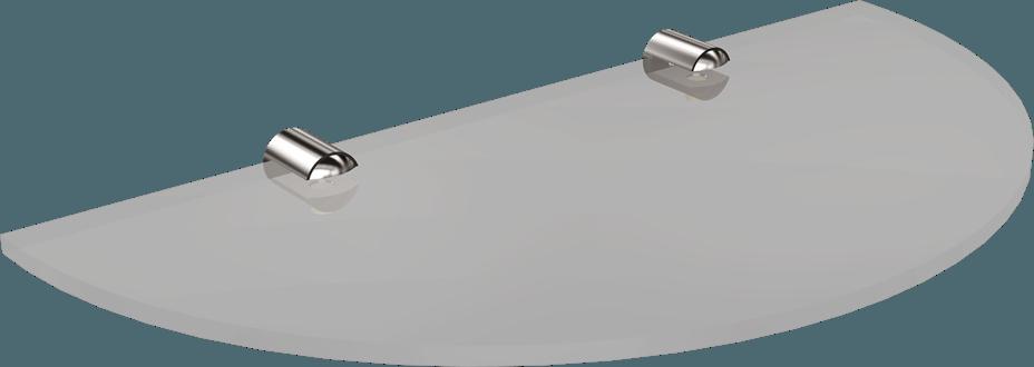 1064-20 Półka półokrągła