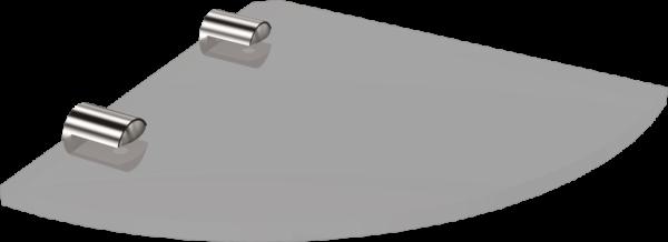 1068-20 Półka narożna szkło6mm