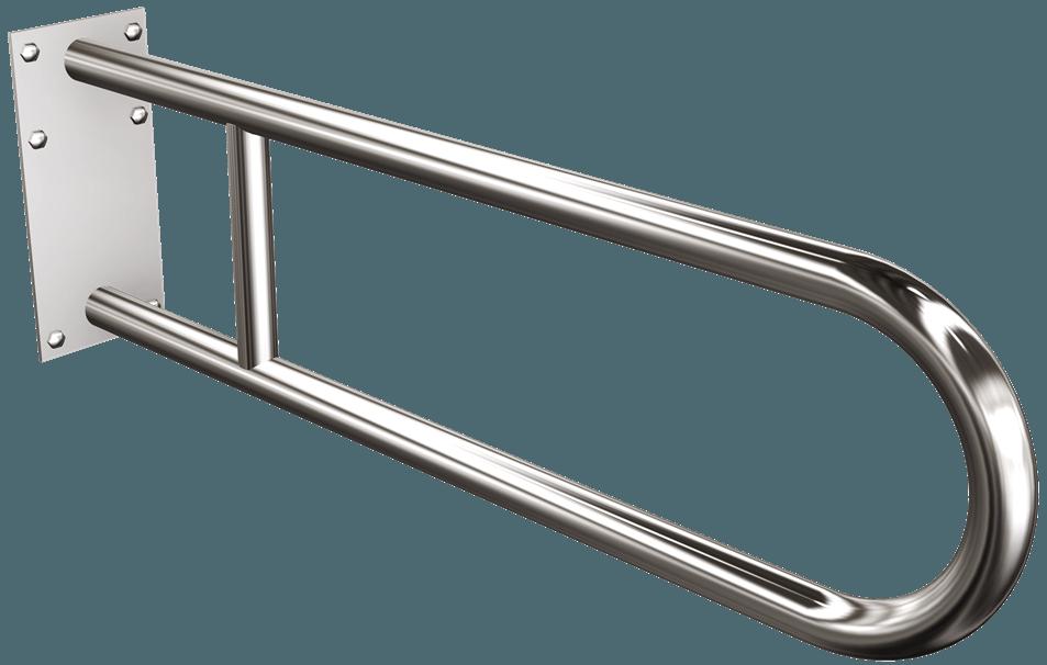 1235-20 Uchwyt półokrągły stały z płytą